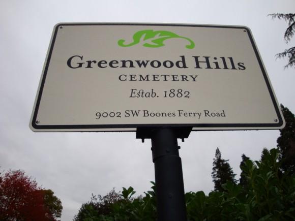 Greenwood Hills Cemetery, Portland, OR